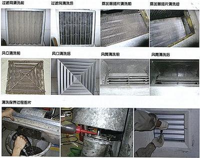 奇瑞a5空调清洗_朝阳区专业清洗大型中央空调 雨洁清洗服务