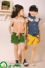 廣州品牌兒童服裝加盟店 童話風格童裝贏得
