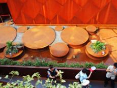 锈蚀钢板精密加工 镂空刻花业务