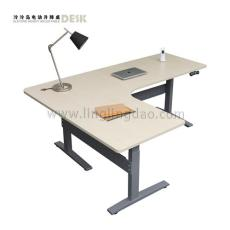 泠泠岛升降办公桌 电动升降桌