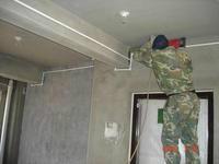 太原体育路水钻打孔暖气水管增压泵安装
