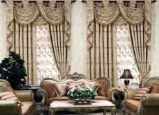 加洛林窗帘 十大窗帘布艺品牌 开窗帘店