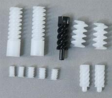 東莞秦碩齒輪廠開模定做各種規格塑膠蝸桿