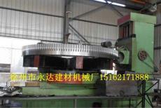 4米滚齿机正在加工烘干机大齿轮