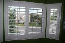 椴木百叶窗 实木百叶门 移门 折叠门