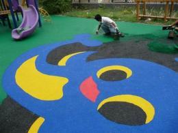 青島市新國標幼兒園塑膠跑道施工 幼兒園epd