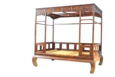 黃花梨架子床