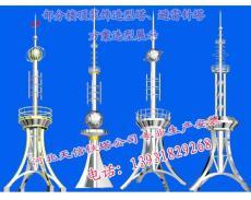 北京楼房楼顶避雷针 工艺避雷针 装饰避雷塔