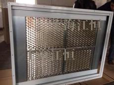蜂巢式和平板式中央空调静电净化