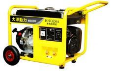 手推式250A汽油发电电焊机大泽动力