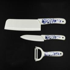 淄博陶瓷刀 齊輝三件套 水果刀全套廚房刀具