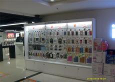 手机精品展柜 手机配件柜 长沙手机展示柜