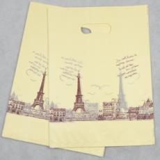 供应 20*25cm低压料 铁塔手提袋 塑料袋礼品