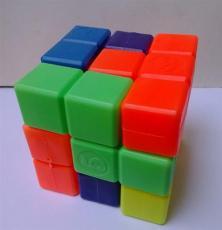 俄罗斯方块立体拼图积木魔方吹塑玩具