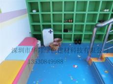 广东深圳PVC塑胶地板 幼儿园塑胶地面厂家