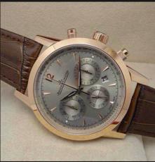 新款高檔 積家 全自動機械表真皮帶男士手表